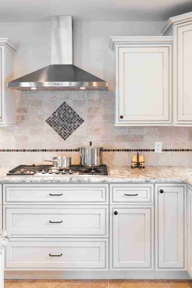 J&K Cabinetry Pearl Glazed Cabinets