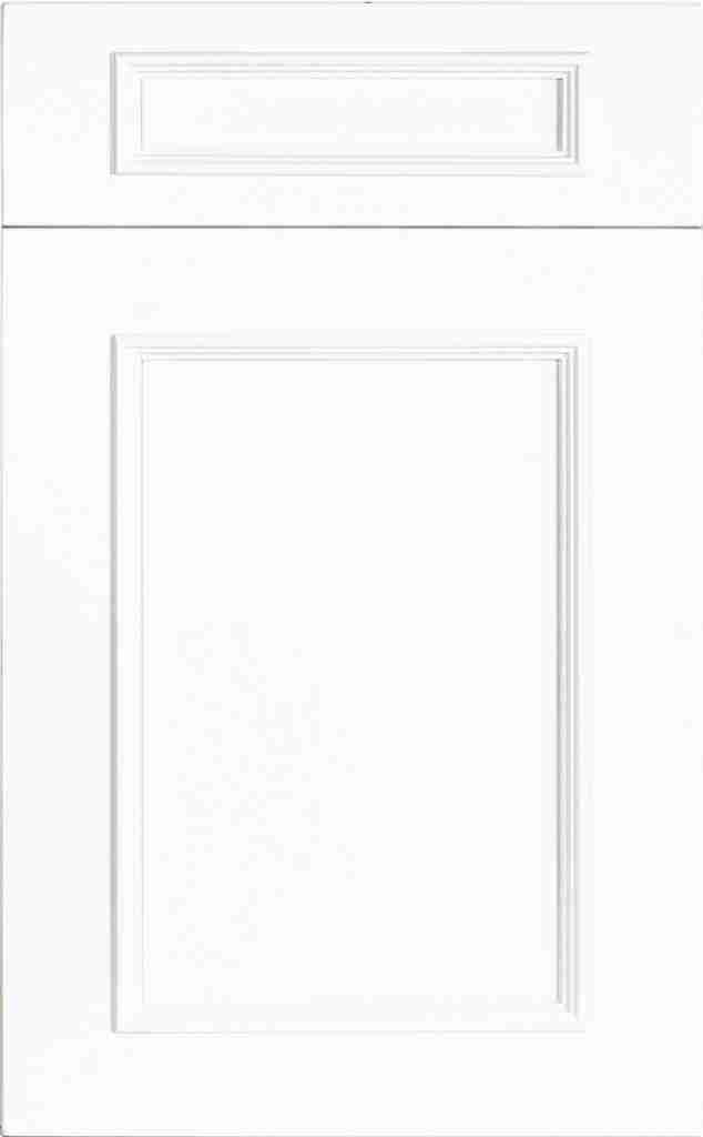 St Martin Cabinetry Ridge Wood Bright White