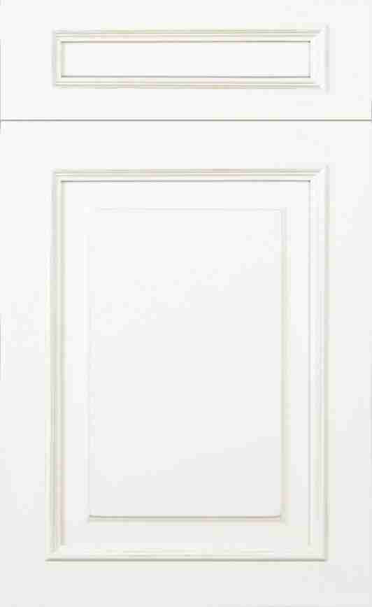 St Martin Cabinetry Wellington Simply White Glaze