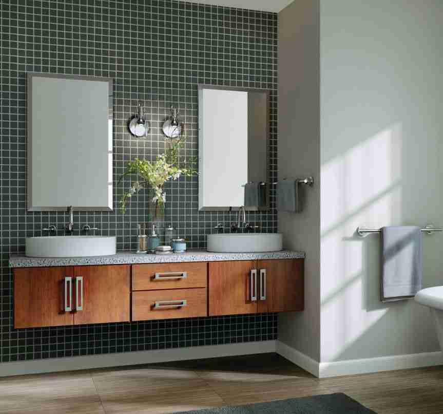 Starmark Cabinetry Bathroom Brown